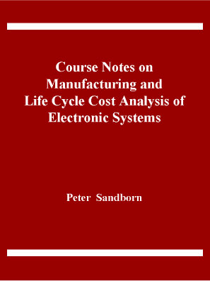 Course Notes on Manufacturing and LCC